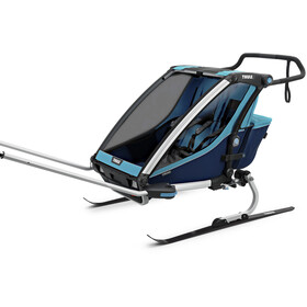 Thule Chariot Cross 2 Bike Trailer thule blue/poseidon